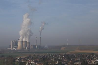 Braunkohlekraftwerk Garzweiler in NRW